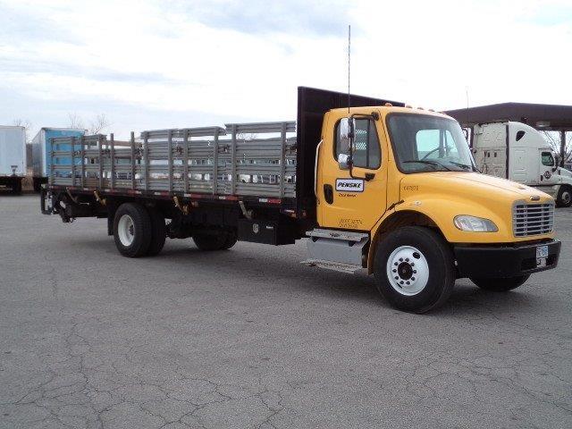 used flatbed trucks for sale in ar penske used trucks. Black Bedroom Furniture Sets. Home Design Ideas