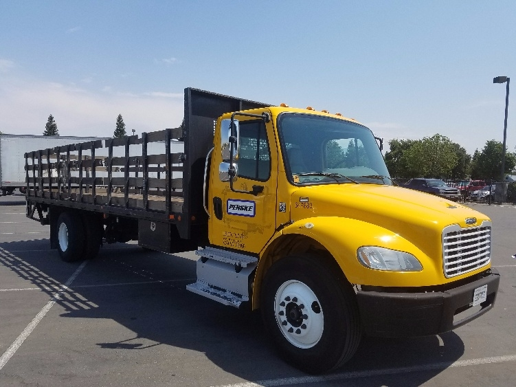 Flatbed Truck-Light and Medium Duty Trucks-Freightliner-2013-M2-WEST SACRAMENTO-CA-128,591 miles-$52,500