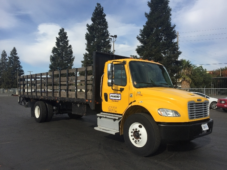 Flatbed Truck-Light and Medium Duty Trucks-Freightliner-2013-M2-WEST SACRAMENTO-CA-109,804 miles-$52,000