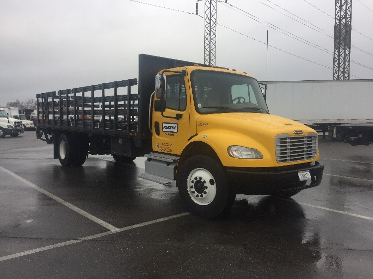 Flatbed Truck-Light and Medium Duty Trucks-Freightliner-2013-M2-SAN LEANDRO-CA-130,429 miles-$52,500