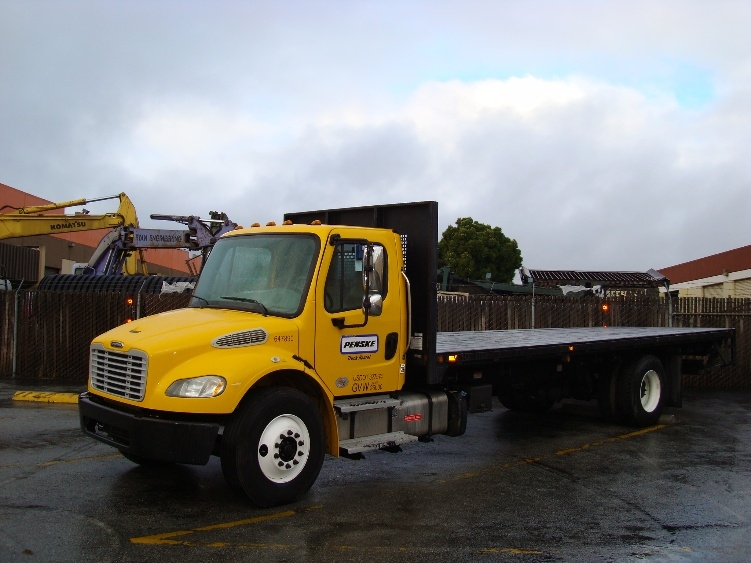 Flatbed Truck-Light and Medium Duty Trucks-Freightliner-2013-M2-SOUTH SAN FRANCISCO-CA-96,718 miles-$56,000