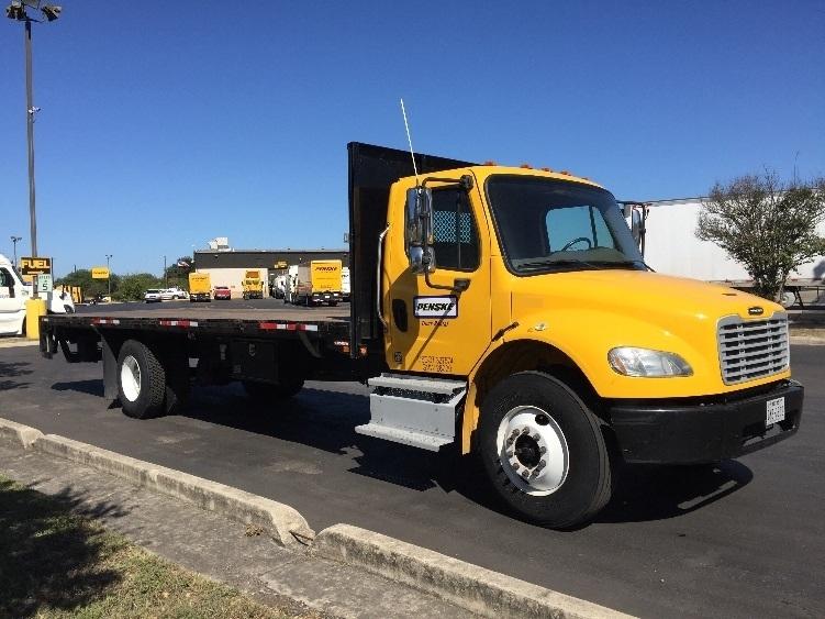 Flatbed Truck-Light and Medium Duty Trucks-Freightliner-2013-M2-SAN ANTONIO-TX-142,770 miles-$49,750