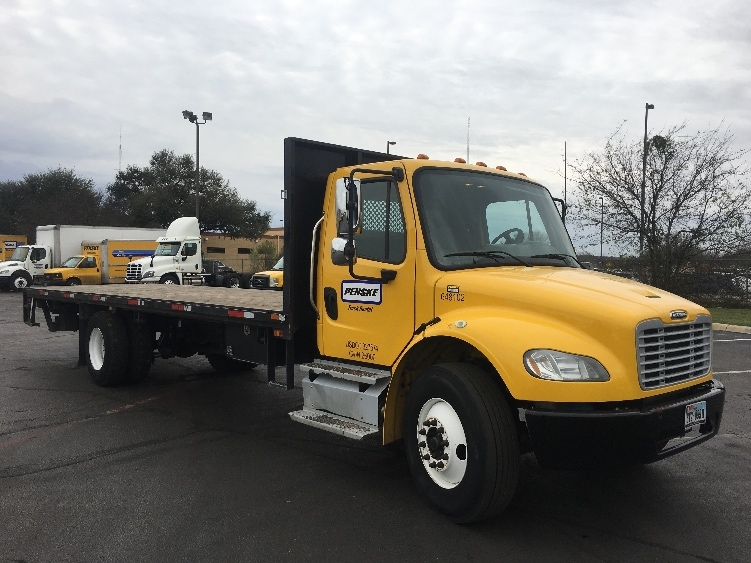 Flatbed Truck-Light and Medium Duty Trucks-Freightliner-2013-M2-SAN ANTONIO-TX-123,456 miles-$49,750