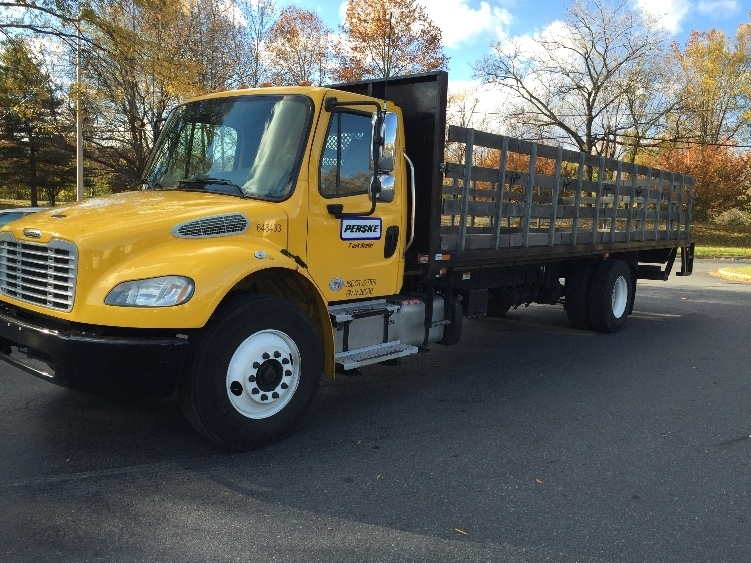 Flatbed Truck-Light and Medium Duty Trucks-Freightliner-2013-M2-READING-PA-91,492 miles-$48,750