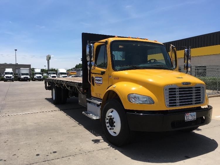 Flatbed Truck-Light and Medium Duty Trucks-Freightliner-2013-M2-DALLAS-TX-103,167 miles-$54,000