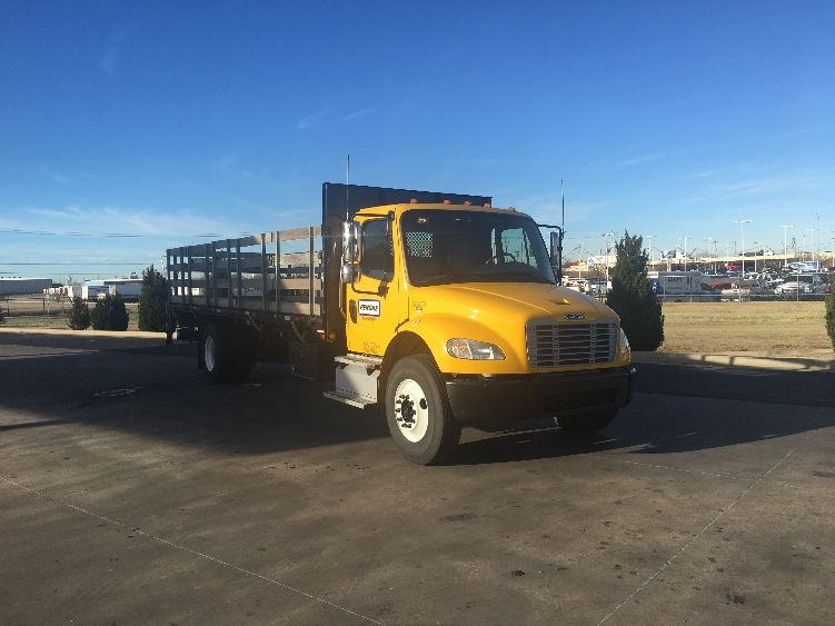 Flatbed Truck-Light and Medium Duty Trucks-Freightliner-2013-M2-OKLAHOMA CITY-OK-97,713 miles-$51,250