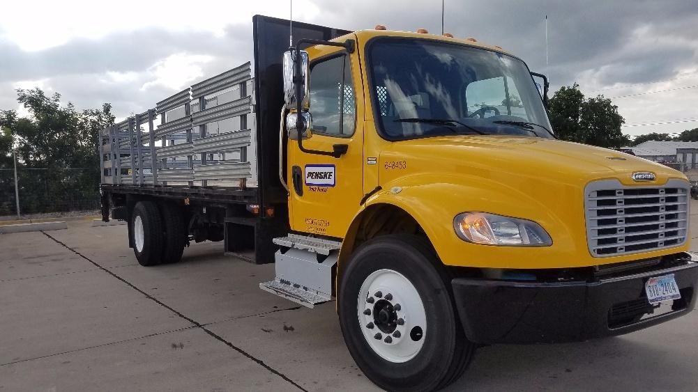 Flatbed Truck-Light and Medium Duty Trucks-Freightliner-2013-M2-DALLAS-TX-102,715 miles-$54,000