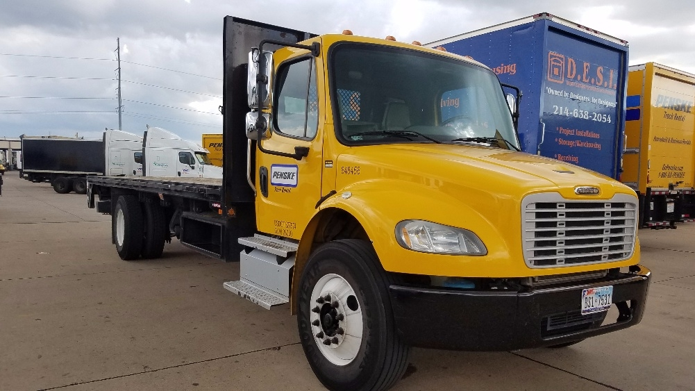 Flatbed Truck-Light and Medium Duty Trucks-Freightliner-2013-M2-DALLAS-TX-110,712 miles-$53,250