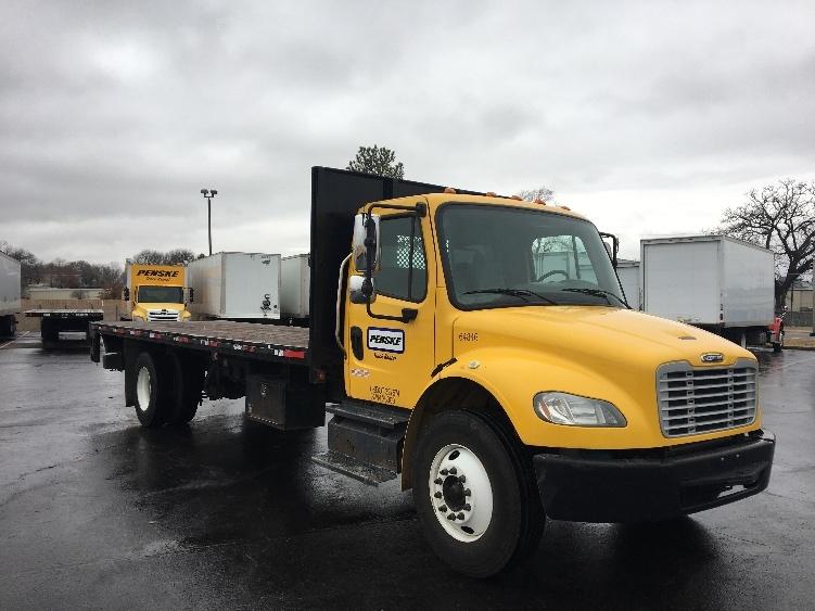 Flatbed Truck-Light and Medium Duty Trucks-Freightliner-2013-M2-OKLAHOMA CITY-OK-98,235 miles-$51,500