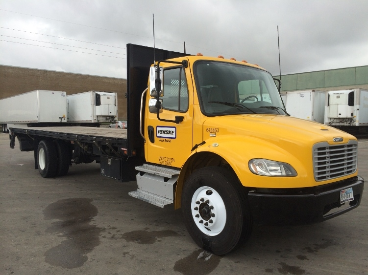 Flatbed Truck-Light and Medium Duty Trucks-Freightliner-2013-M2-GARLAND-TX-155,135 miles-$42,750