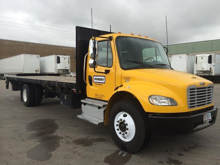 Flatbed Truck-Light and Medium Duty Trucks-Freightliner-2013-M2-GARLAND-TX-131,309 miles-$51,000