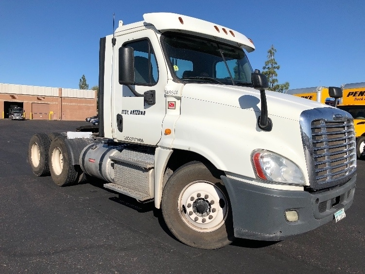 Day Cab Tractor-Heavy Duty Tractors-Freightliner-2013-Cascadia 12564ST-PHOENIX-AZ-379,043 miles-$46,250
