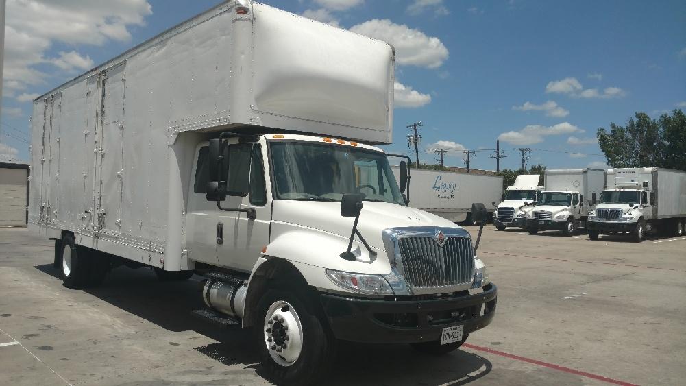 Medium Duty Box Truck-Specialized Equipment-International-2013-4300-CARROLLTON-TX-109,215 miles-$52,250