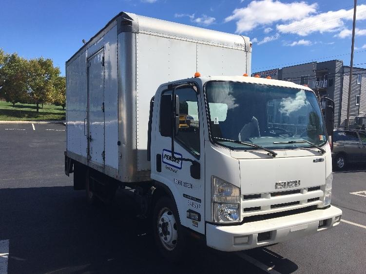 Medium Duty Box Truck-Light and Medium Duty Trucks-Isuzu-2012-NPR-BETHLEHEM-PA-83,704 miles-$22,000
