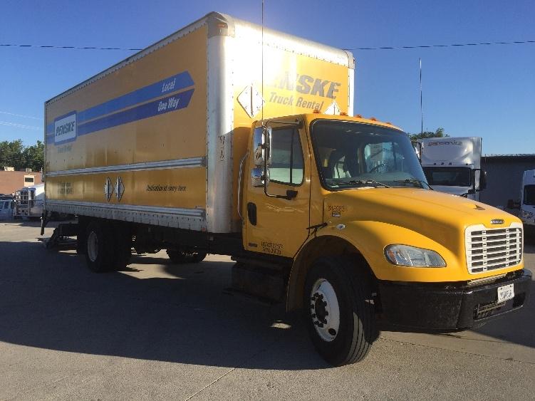 Medium Duty Box Truck-Light and Medium Duty Trucks-Freightliner-2013-M2-DES MOINES-IA-216,568 miles-$36,000