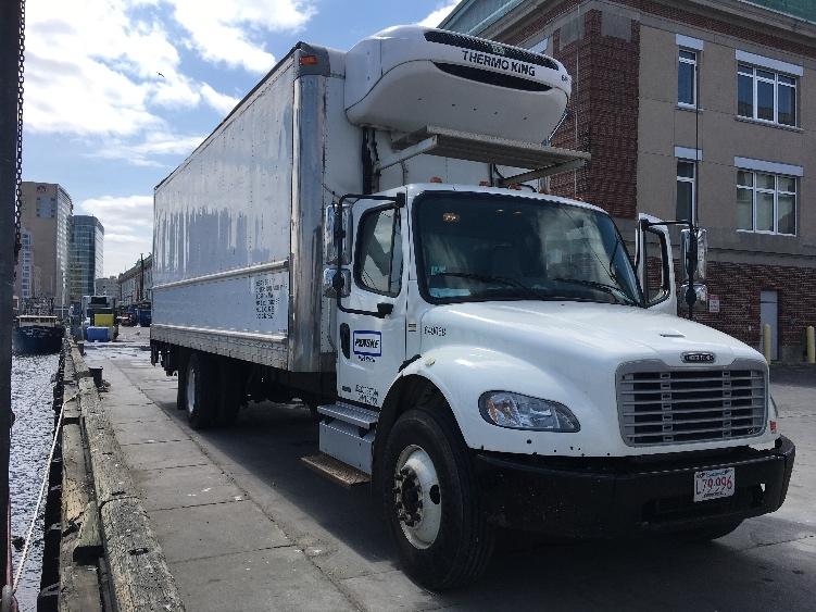 Reefer Truck-Light and Medium Duty Trucks-Freightliner-2013-M2-BRAINTREE-MA-153,374 miles-$42,000