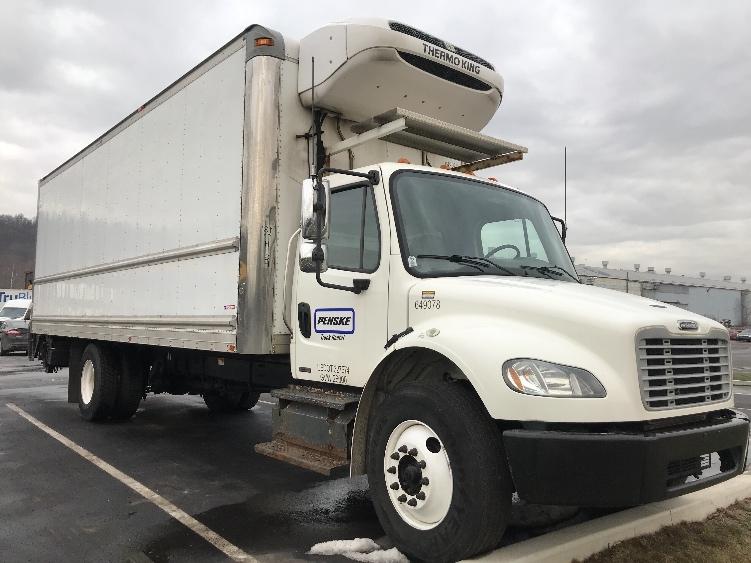 Reefer Truck-Light and Medium Duty Trucks-Freightliner-2013-M2-PITTSBURGH-PA-142,178 miles-$49,250
