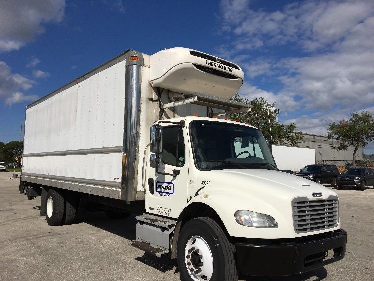 Reefer Truck-Light and Medium Duty Trucks-Freightliner-2013-M2-POMPANO BEACH-FL-164,533 miles-$50,250