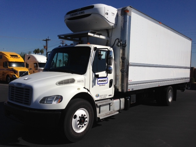 Reefer Truck-Light and Medium Duty Trucks-Freightliner-2013-M2-PHOENIX-AZ-187,742 miles-$49,000
