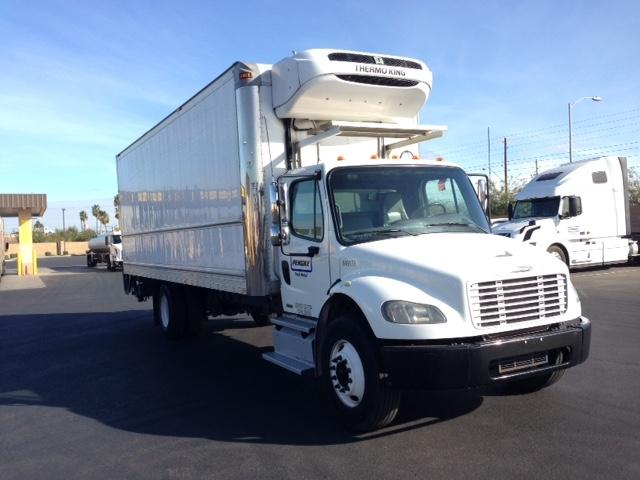 Reefer Truck-Light and Medium Duty Trucks-Freightliner-2013-M2-PHOENIX-AZ-132,052 miles-$61,500