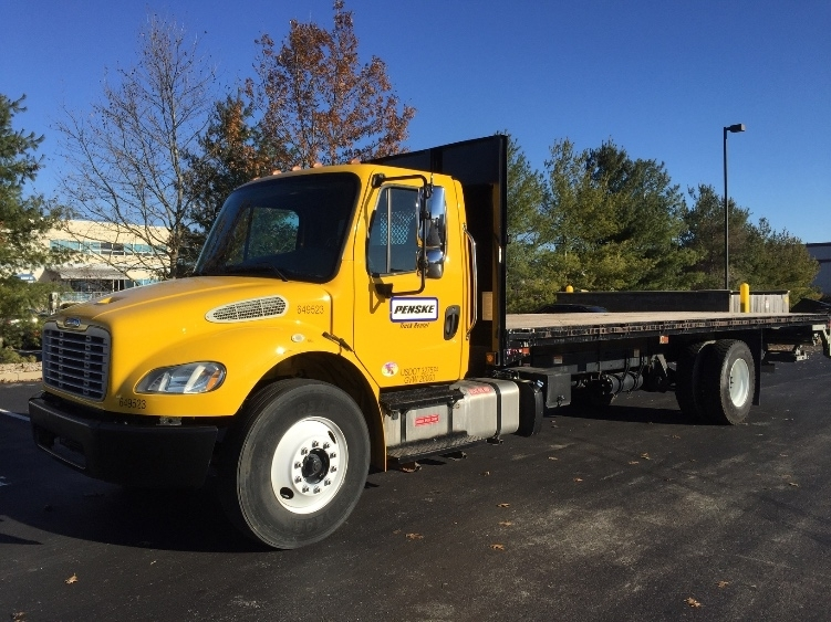 Flatbed Truck-Light and Medium Duty Trucks-Freightliner-2013-M2-COLUMBUS-OH-66,430 miles-$55,500