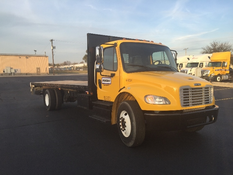 Flatbed Truck-Light and Medium Duty Trucks-Freightliner-2013-M2-SOUTH BEND-IN-95,808 miles-$47,750