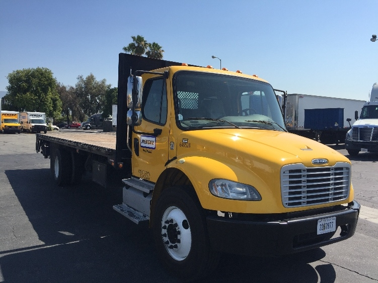 Flatbed Truck-Light and Medium Duty Trucks-Freightliner-2013-M2-ONTARIO-CA-108,876 miles-$55,250