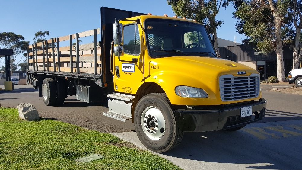 Flatbed Truck-Light and Medium Duty Trucks-Freightliner-2013-M2-TORRANCE-CA-104,535 miles-$50,750