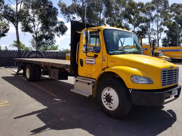 Flatbed Truck-Light and Medium Duty Trucks-Freightliner-2013-M2-TORRANCE-CA-100,310 miles-$49,750