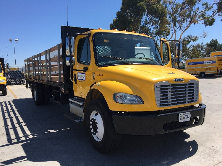 Flatbed Truck-Light and Medium Duty Trucks-Freightliner-2013-M2-TORRANCE-CA-108,942 miles-$50,500