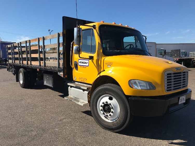 Flatbed Truck-Light and Medium Duty Trucks-Freightliner-2013-M2-TORRANCE-CA-93,336 miles-$51,750