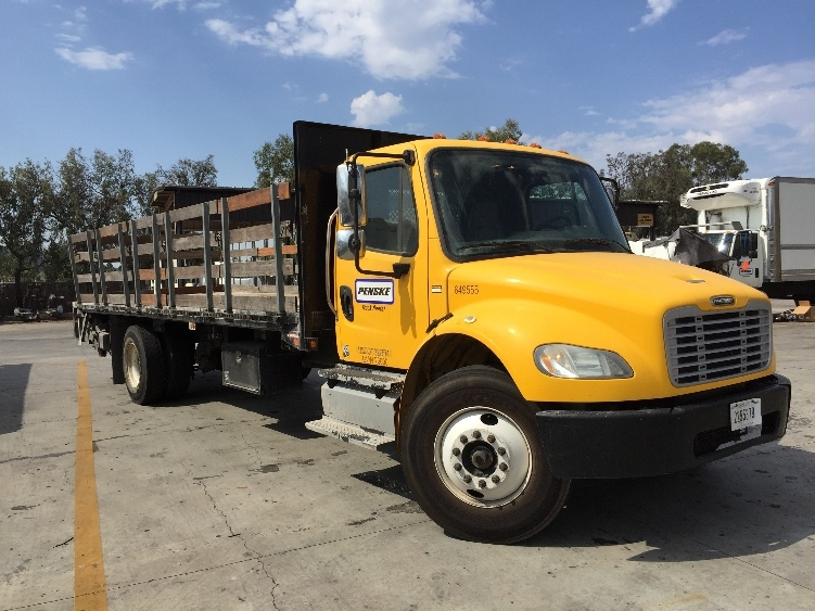 Flatbed Truck-Light and Medium Duty Trucks-Freightliner-2013-M2-TORRANCE-CA-98,945 miles-$51,250