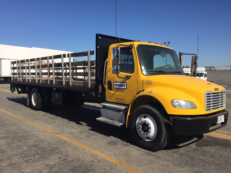 Flatbed Truck-Light and Medium Duty Trucks-Freightliner-2013-M2-CHINO-CA-112,430 miles-$54,250