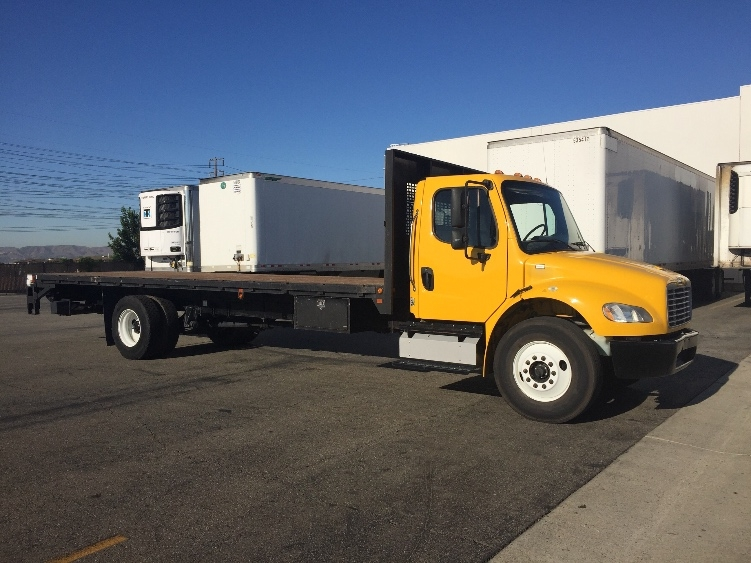Flatbed Truck-Light and Medium Duty Trucks-Freightliner-2013-M2-CHINO-CA-114,634 miles-$48,000