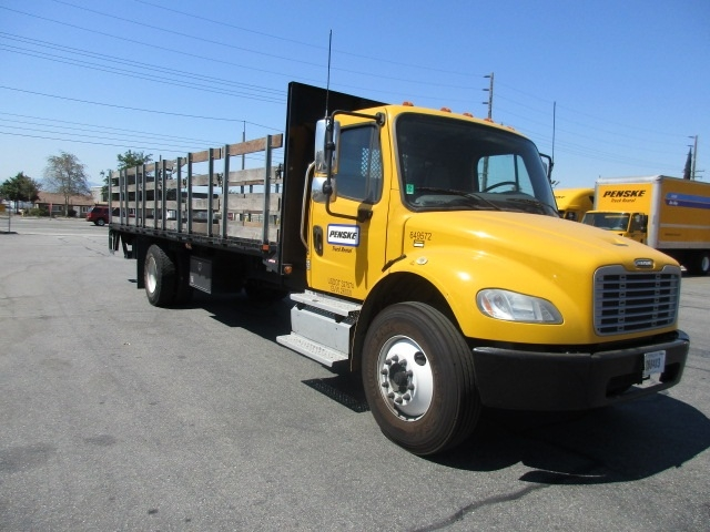 FLATBED-TRUCK-Freightliner-2013-M2-FONTANA-CA-113,740 miles-$50,000
