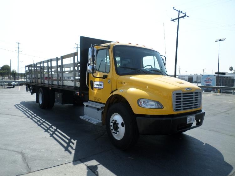 Flatbed Truck-Light and Medium Duty Trucks-Freightliner-2013-M2-SUN VALLEY-CA-101,416 miles-$55,500