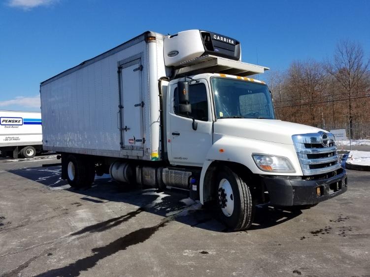 Reefer Truck-Light and Medium Duty Trucks-Hino-2013-338-WHITE DEER-PA-294,523 miles-$22,000
