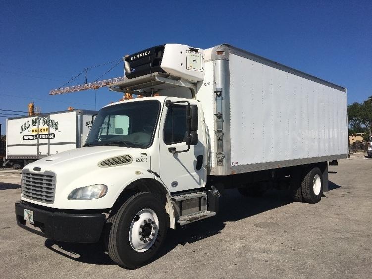 Reefer Truck-Light and Medium Duty Trucks-Freightliner-2013-M2-POMPANO BEACH-FL-254,888 miles-$28,500