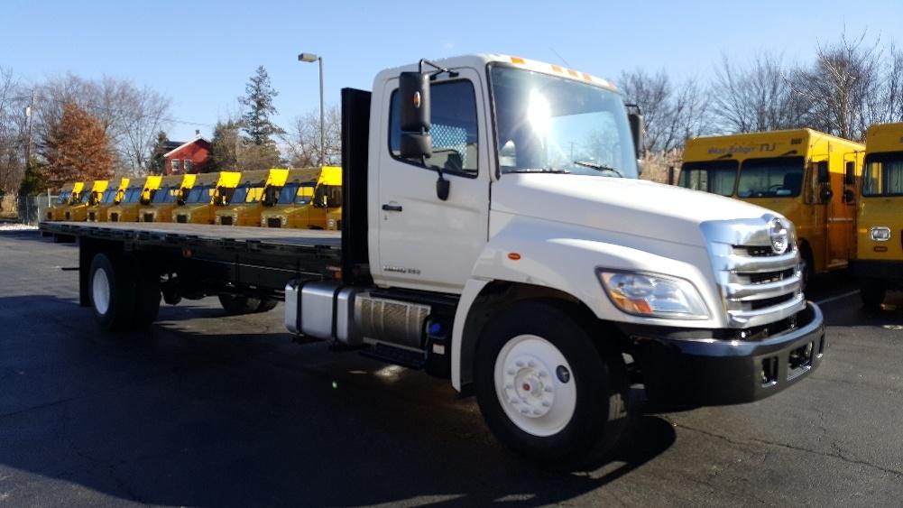 Flatbed Truck-Light and Medium Duty Trucks-Hino-2013-338-PARSIPPANY-NJ-160,175 miles-$43,500
