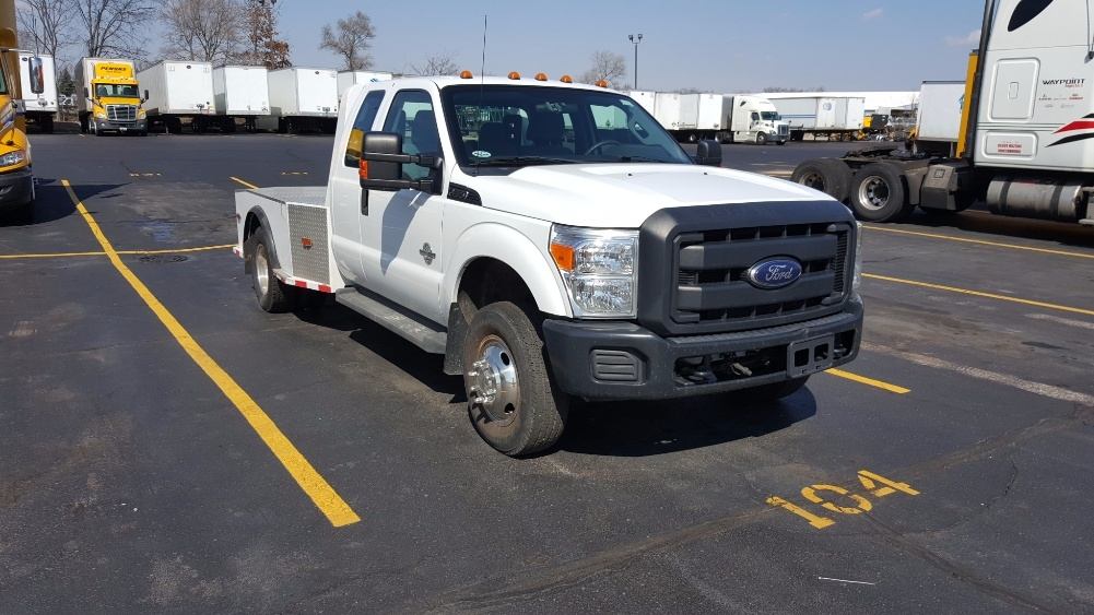 Flatbed Truck-Light and Medium Duty Trucks-Ford-2012-F350-ELKHART-IN-159,180 miles-$26,000