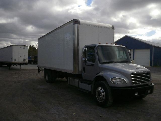Medium Duty Box Truck-Light and Medium Duty Trucks-Freightliner-2013-M2-WHITESBORO-NY-236,704 miles-$23,250