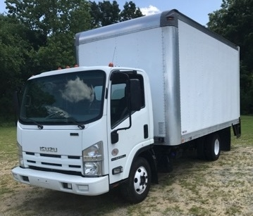 Medium Duty Box Truck-Light and Medium Duty Trucks-Isuzu-2012-NPR-BURLINGTON-NJ-180,545 miles-$19,500
