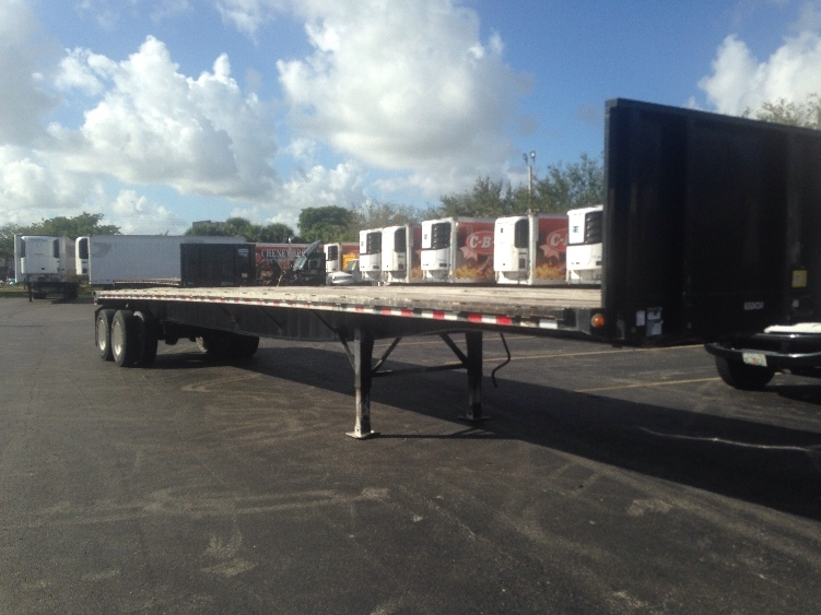 Flatbed Trailer-Semi Trailers-Great Dane-2013-Trailer-RIVIERA BEACH-FL-51,130 miles-$18,750