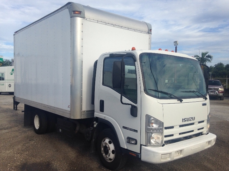 Medium Duty Box Truck-Light and Medium Duty Trucks-Isuzu-2012-NPR-MIAMI-FL-132,544 miles-$23,250