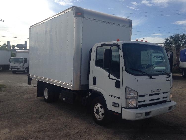 Medium Duty Box Truck-Light and Medium Duty Trucks-Isuzu-2012-NPR-MIAMI-FL-152,834 miles-$22,250