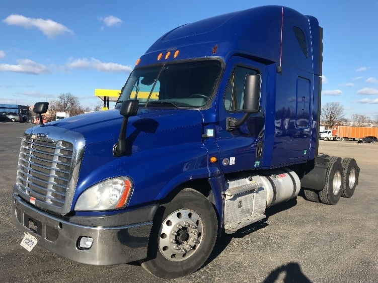 Sleeper Tractor-Heavy Duty Tractors-Freightliner-2013-Cascadia 12564ST-SAINT LOUIS-MO-526,203 miles-$45,750