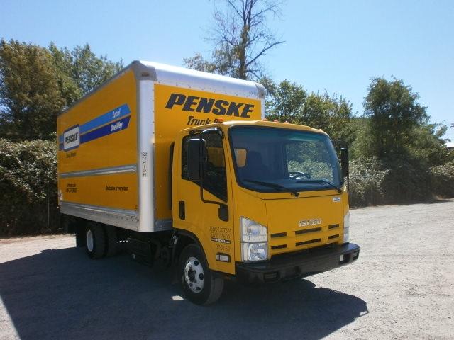 Medium Duty Box Truck-Light and Medium Duty Trucks-Isuzu-2013-NPR-SPRINGFIELD-OR-96,827 miles-$27,500