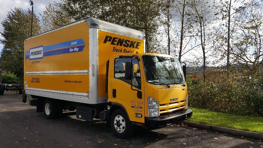 Medium Duty Box Truck-Light and Medium Duty Trucks-Isuzu-2013-NPR-CLACKAMAS-OR-92,703 miles-$31,250