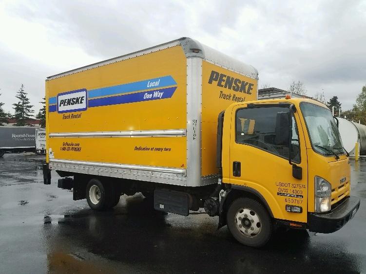 Medium Duty Box Truck-Light and Medium Duty Trucks-Isuzu-2013-NPR-KENT-WA-113,472 miles-$29,750