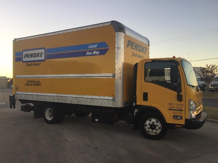 Medium Duty Box Truck-Light and Medium Duty Trucks-Isuzu-2013-NPR-OKLAHOMA CITY-OK-117,652 miles-$26,250